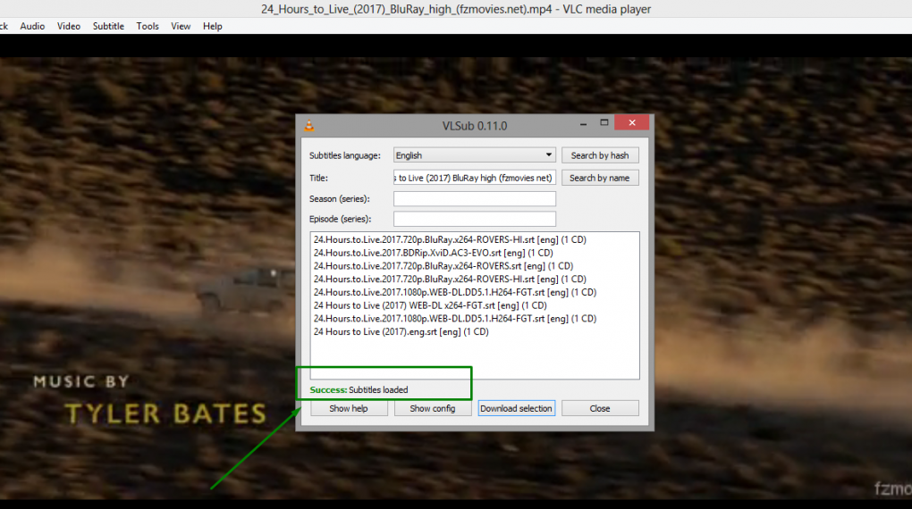 downlaod subtitles in vlc media player