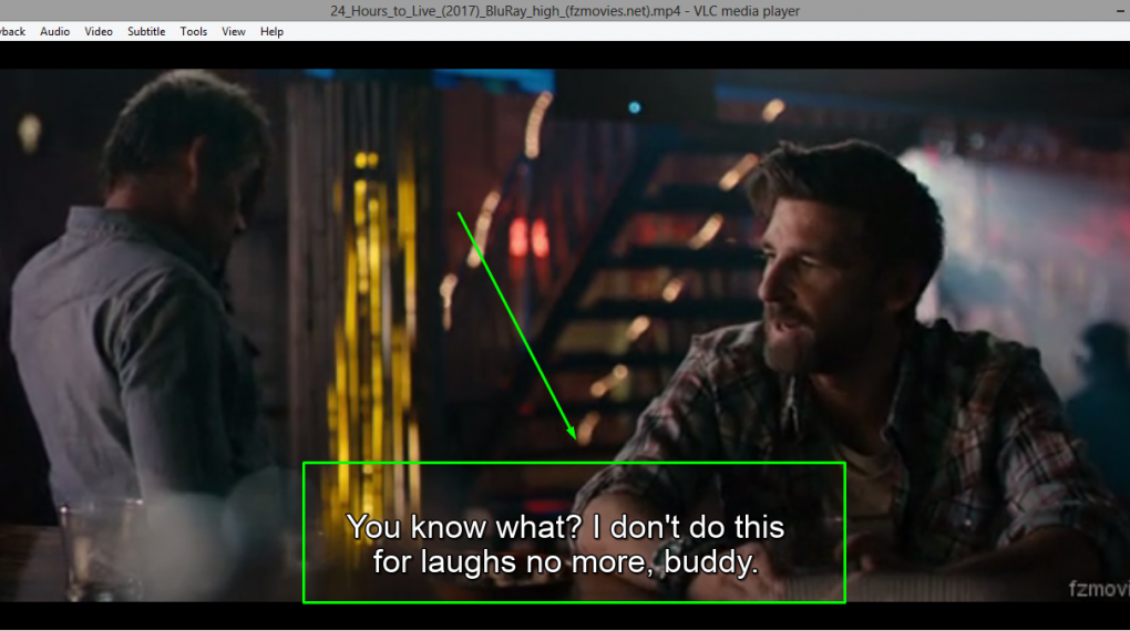 activate subtitles in vlc media player